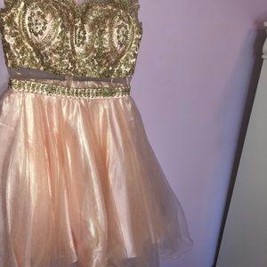 Homecoming Blush dress